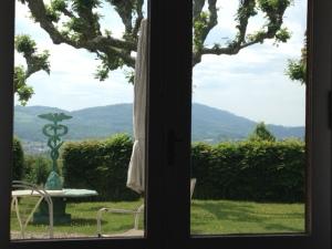 Näkymä Rudolf Steiner -arkiston ikkunasta